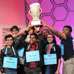 7 Indian-origin kids are US Spelling Bee co-champions