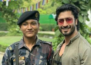 Vidyut Jammwal shares a heartfelt post for a CISF soldier