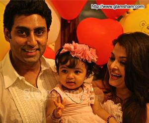 How Aaradhya celebrated her first birthday? Delete