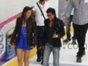 Shahrukh Khan and Deepika Padukone spotted shooting for HAPPY NEW YEAR in Dubai