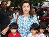 7 is the number for Farah Khan's triplets