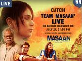 Catch Team MASAAN on Glamsham's Google Hangout on 29th July at 1.30 pm