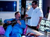 Subhash Ghai & Rishi Kapoor relive KARZ moment on the sets of KAANCHI!
