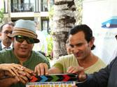 Vice-Prime Minister of Mauritius claps for HUMSHAKALS last shot
