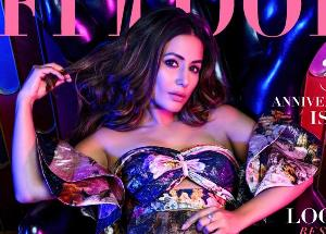 Hina Khan looks hot on the cover page