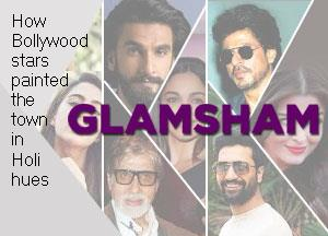 How Bollywood stars painted the town in Holi hues