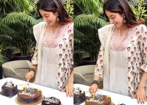 Janhvi Kapoor celebrated her birthday with family and orphanage children