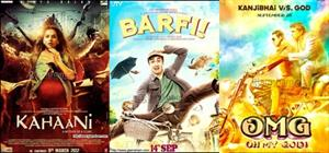 Bollywood goes unconventional for the year 2012