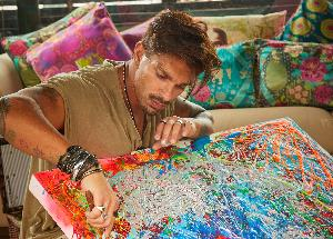 Karan Singh Grover is a flawless and intense painter