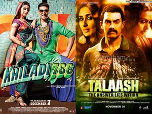 Box-office: KHILADI 786 is good to ordinary; TALAASH stutters!