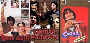 70 moments of reckoning of Amitabh Bachchan's films -II
