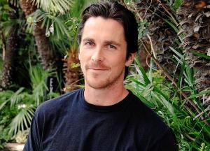 Know how Christian Bale tries to stop himself from disrupting filming?