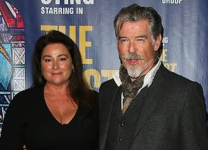Pierce Brosnan spotted in a rare outing with wife Keely