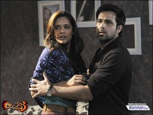 Why was Emraan annoyed while shooting for RAAZ 3?