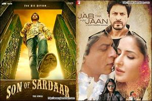More clashes after SRK's JAB TAK HAI JAAN v/s Ajay's SON OF SARDAAR