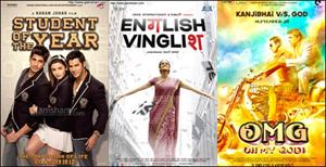 STUDENT OF THE YEAR scores, ENGLISH VINGLISH & OMG dominate!