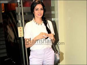 Sridevi to visit theaters to see audiences' reaction