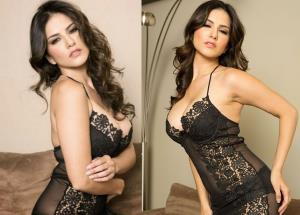 Sunny Leone raising the heat in cold weather