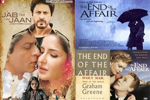 Is JAB TAK HAI JAAN inspired by THE END OF THE AFFAIR?