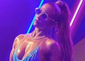Jennifer Lopez sizzles in barely-there bodysuit for her new music video