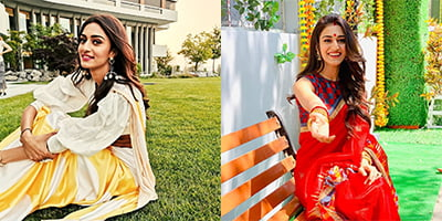 Happy Birthday: Erica Fernandes's classy saree looks will blow your mind