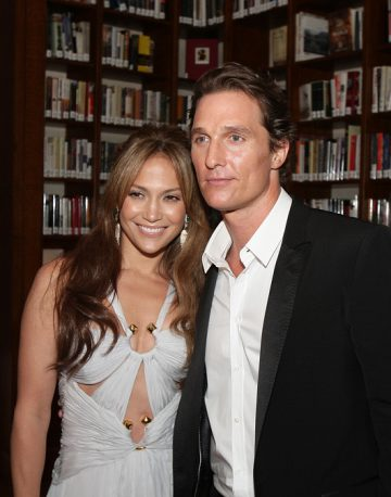 Jennifer Lopez up for working again with Matthew McConaughey