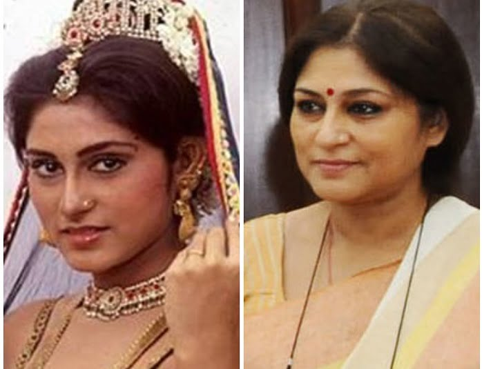 Roopa Ganguly played the role of Draupadi in BR Chopra's Mahabharat