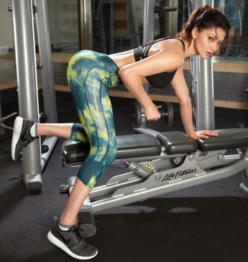 Urvashi Rautela shares a high-intensity exercise