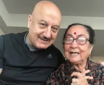 Anupam Kher grooves with his mother Dulari in new video