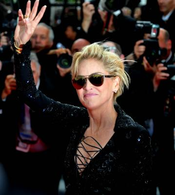 Sharon Stone was once struck by lightning