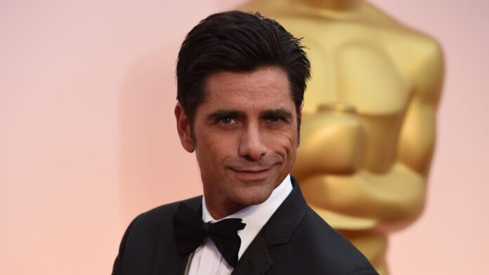 Actor John Stamos is a proud father.