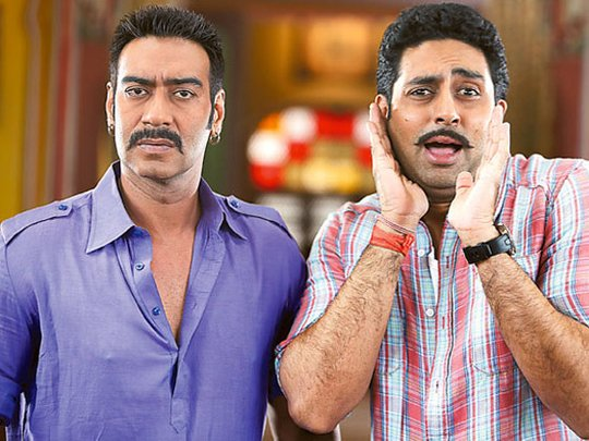 Ajay Devgn and Abhisekh Bachchan took to his Instagram account to reveal that something big is coming for his fans today