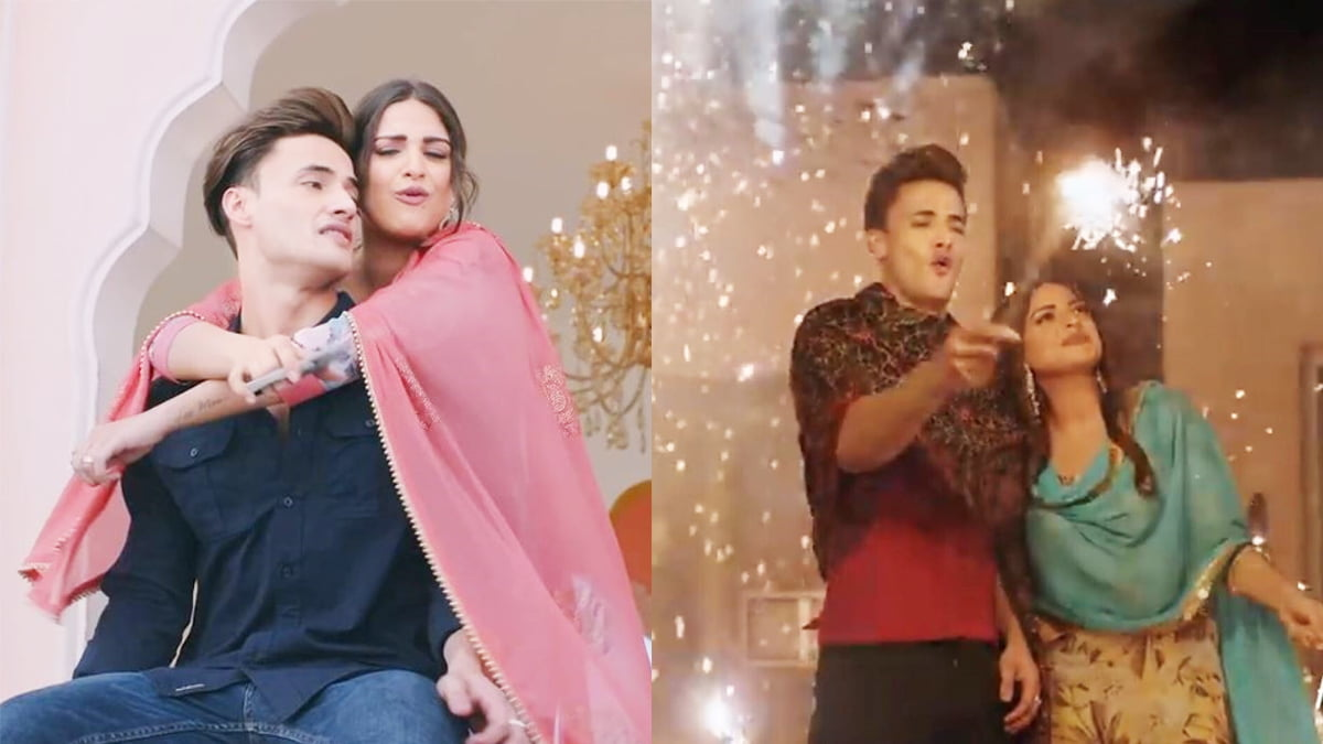 Asim Riaz thanks his fans as his song 'Khyaal Rakhya Kar' with Himanshi Khurana is trending no 1