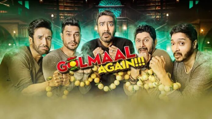 Golmaal Again to release in New Zealand