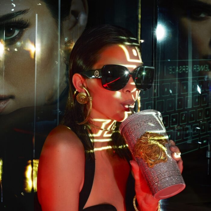 Kendall Jenner is the new face for Versace