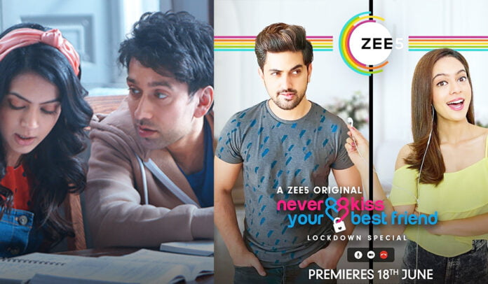 Nakuul Mehta sends love and best wishes to Zain Imam and Anya Singh for 'Never Kiss Your BestFriend Lockdown Special'