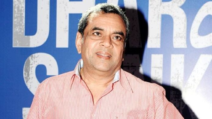 Paresh Rawal: Actor are entertainers, army and police personnel are heroes