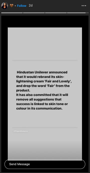 Celebrities hails HUL's decision to axe 'fair' from 'Fair and Lovely'