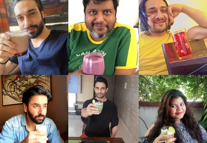 Summers are here! Here are how actors are beating the heat!