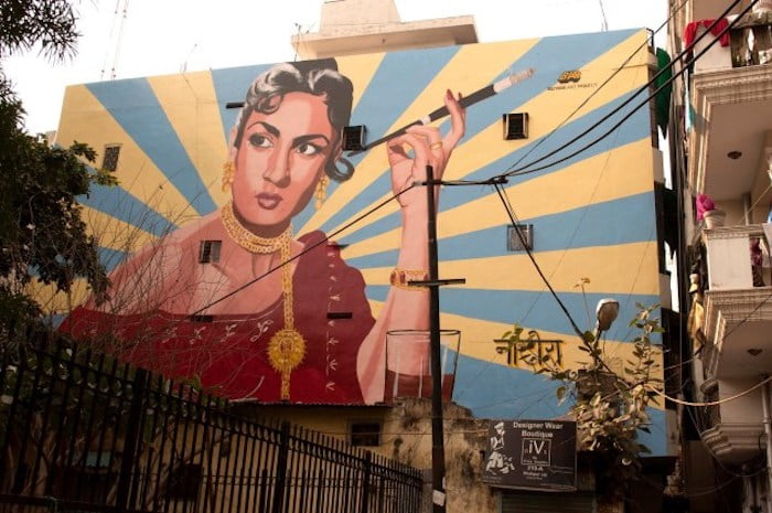 Neha Dhupia: Art in our bylanes