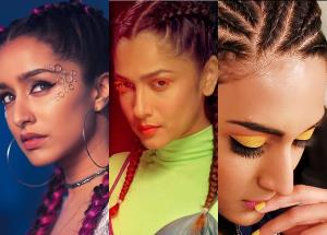 Shraddha Kapoor, Ankita Lokhande, Erica Fernandes and other celebs quirky hairstyle