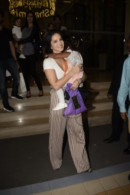 Sunny Leone is 'proud' of daughter's riding skills