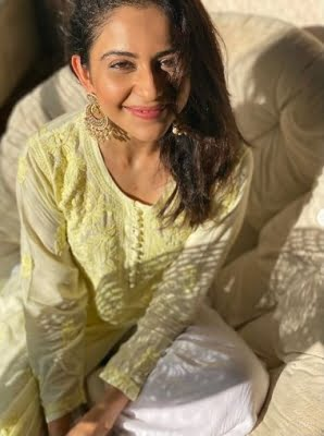 Rakul Preet Singh is currently spending quality time with her family