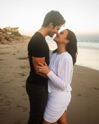 Demi Lovato gets engaged to Max Ehrich