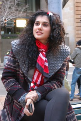 Taapsee Pannu is back to work amid Covid-19 pandemic