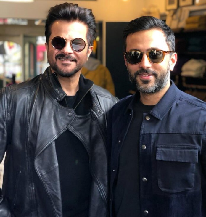 Anil Kapoor with Anand Ahuja