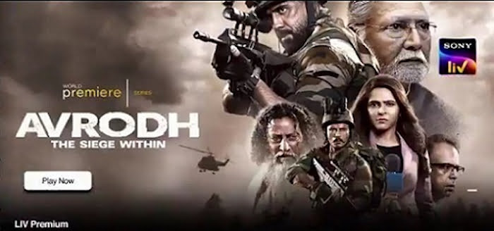 Applause Entertainment's Avrodh-The Siege Within for SonyLIV