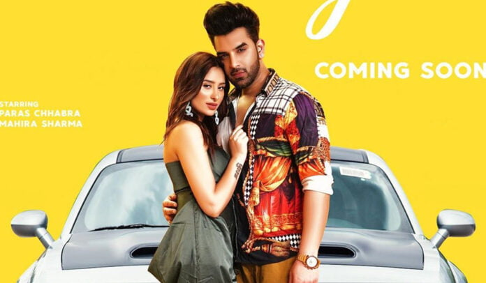 Ring Poster Paras Chhabra and Mahira Sharma reveal the hottest song of the season