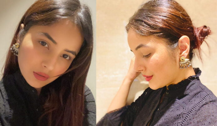 Shehnaaz Gill is killing it in her latest caption along with her beauty