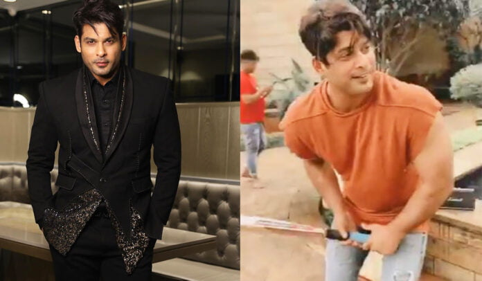 Sidharth Shukla enjoys playing cricket on the sets of 'Dil Ko Karaar Aaya'